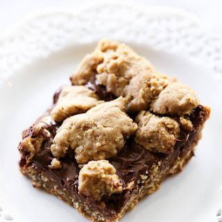 Nutella Oatmeal Cookie Bars.