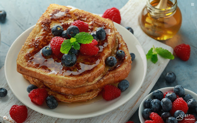 French Toast HD Wallpapers New Tab Theme