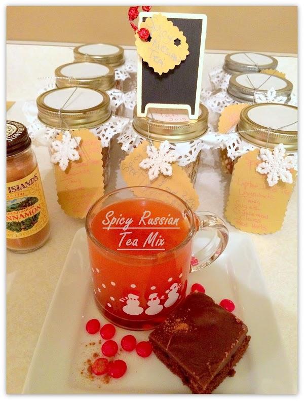 Spicy Russian Tea Mix Recipe