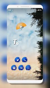 Milky Royal Blue Icons Pack 1.0 APK + Mod (Paid for free / Free purchase) إلى عن على ذكري المظهر