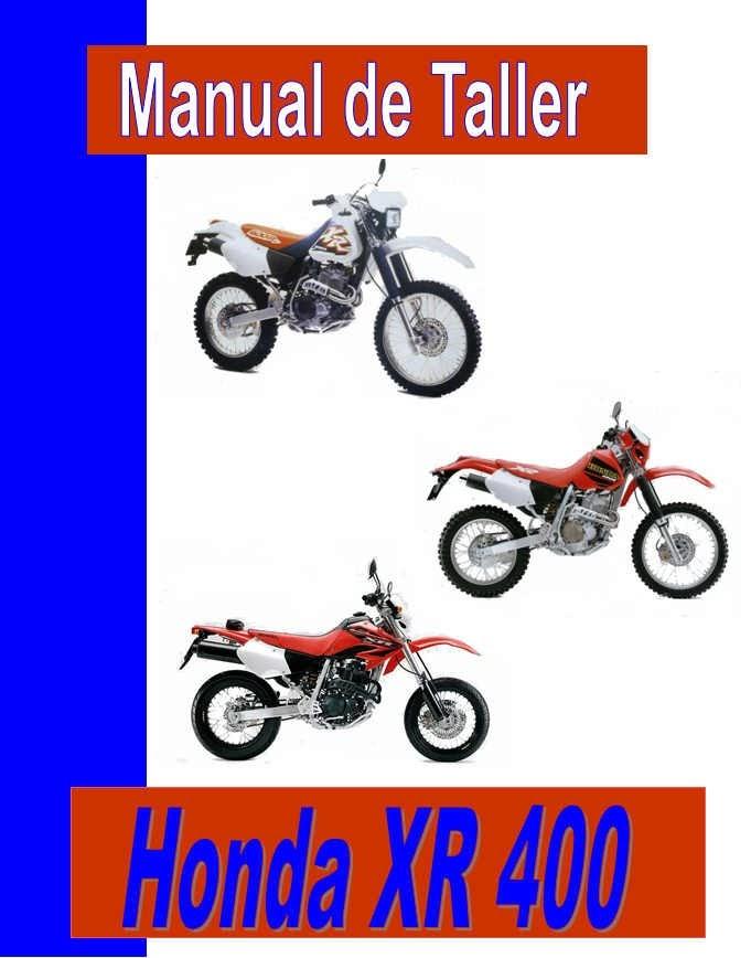 Honda XR 400 Rmanual-taller-servicio-despiece