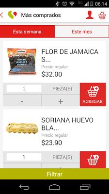 Soriana - screenshot