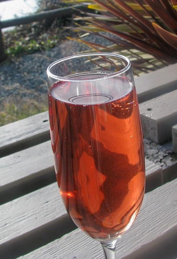 Poinsettia Cocktail Recipe