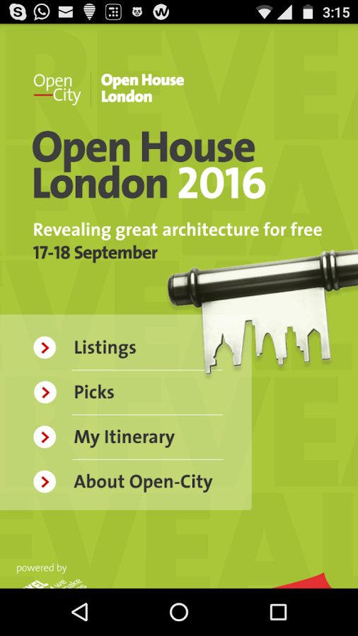 Open House London 2016- screenshot