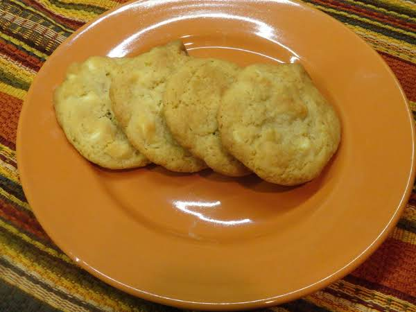Lemon White Chocolate Chip Cookies Recipe