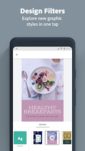 Adobe Spark Post: Graphic design MOD (Unlocked) 5