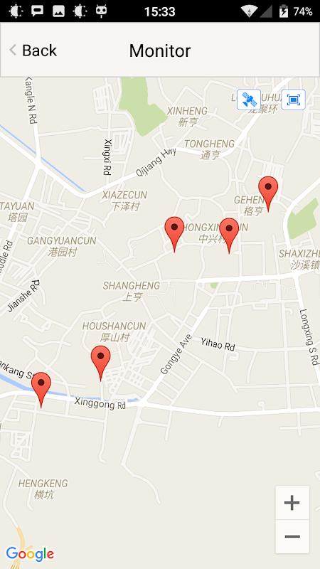 EZ GPS Tracker screenshots