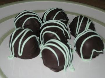 Mint Chocolate Oreo Truffles Recipe