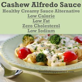 Healthy + Simple Cashew Alfredo Sauce (paleo, gluten free, vegan).