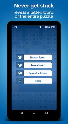 Crossword Puzzle Free apkpoly screenshots 19