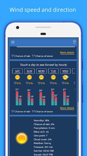 Weather Forecast - Weather Radar & Weather Widget screenshot 5