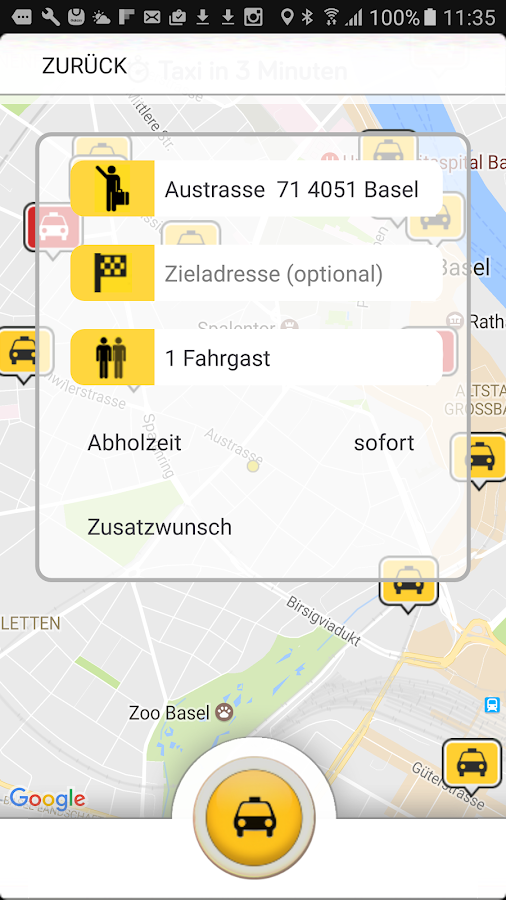 Taxiphon- screenshot