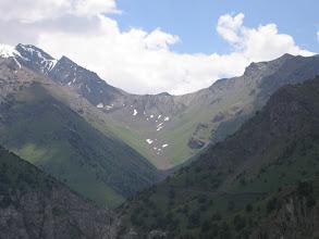 Photo: Abshir Pass, view from Kapchagay (S)