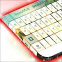 白色的键盘 icon