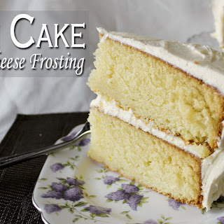 Lemon Cake With Cream Cheese Frosting Recipes.