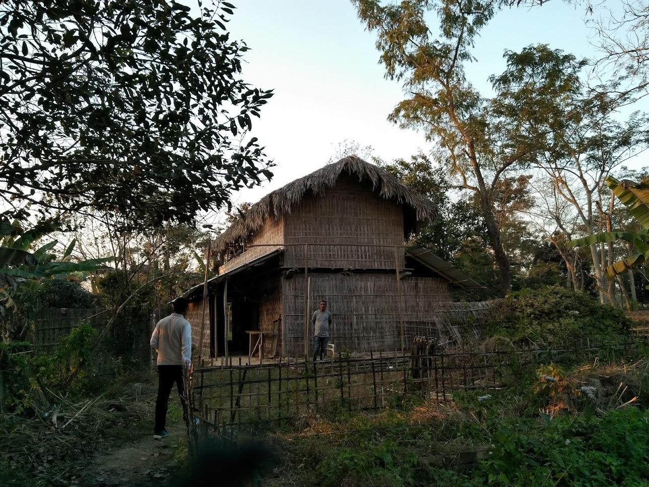 古い茶工場