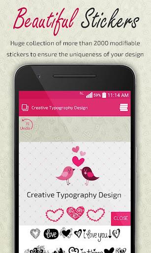 Foto do Creative Typography Design