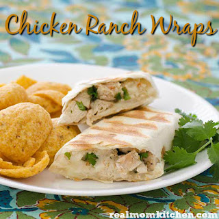 Chicken Ranch Wraps Recipe