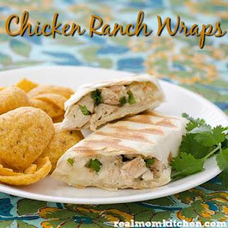 Chicken Ranch Wraps.