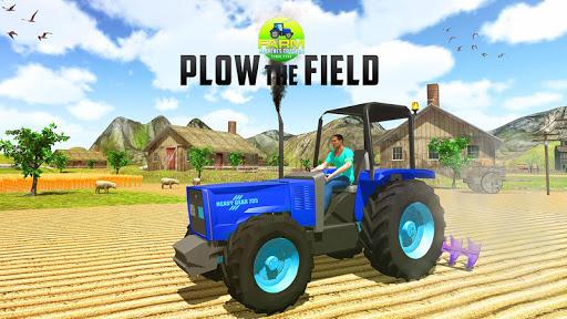 farm tractor machine simulator screenshot 1