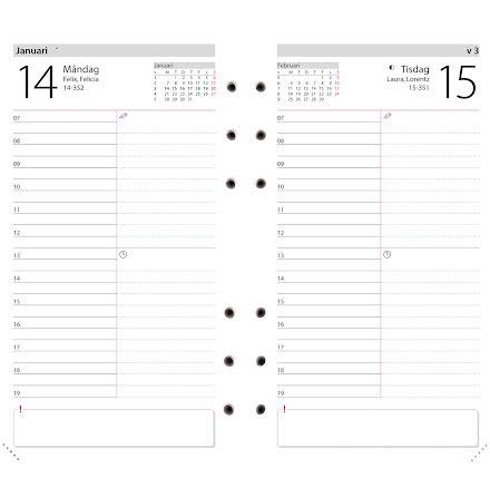 Regent kalendersats Agenda