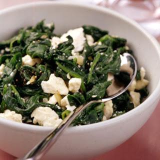 Spinach and Feta Saute Recipe
