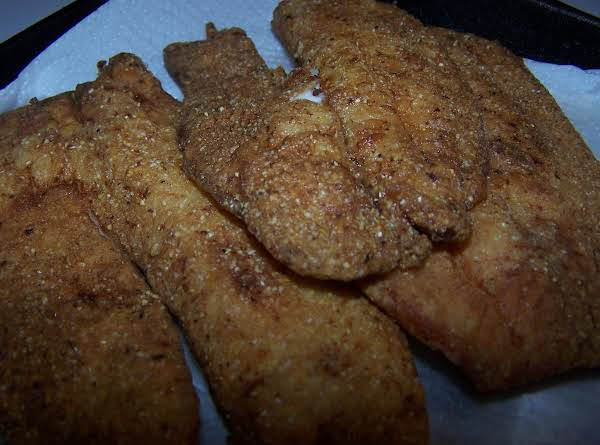 Fried  Fish Filets - Catfish, Talapia