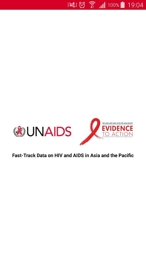 AIDS DATA HUB- screenshot
