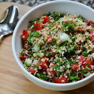 Lebanese Tabbouleh Salad.