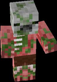 Minecraft Pe Zombie Pigman Nova Skin