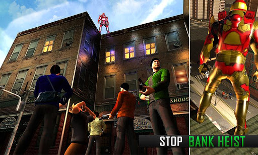 Flying Robot Grand City Rescue for PC