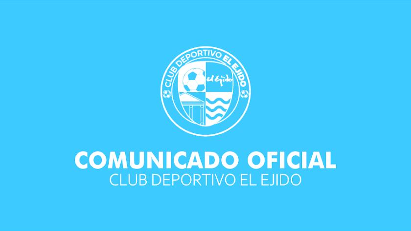Comunicado oficial del club celeste.