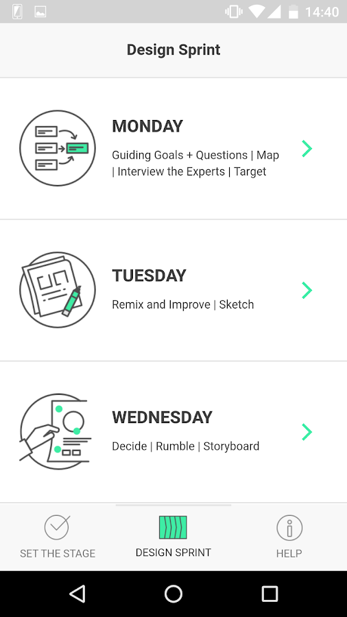 Duco - Design Sprint Guide- screenshot