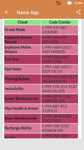 Codes GTA 5 for PS4 1.0 screenshots 3