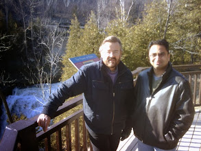 Photo: G. Turner (L) with Husain  http://canadaindiaeducation.com/introduction/media-outreach