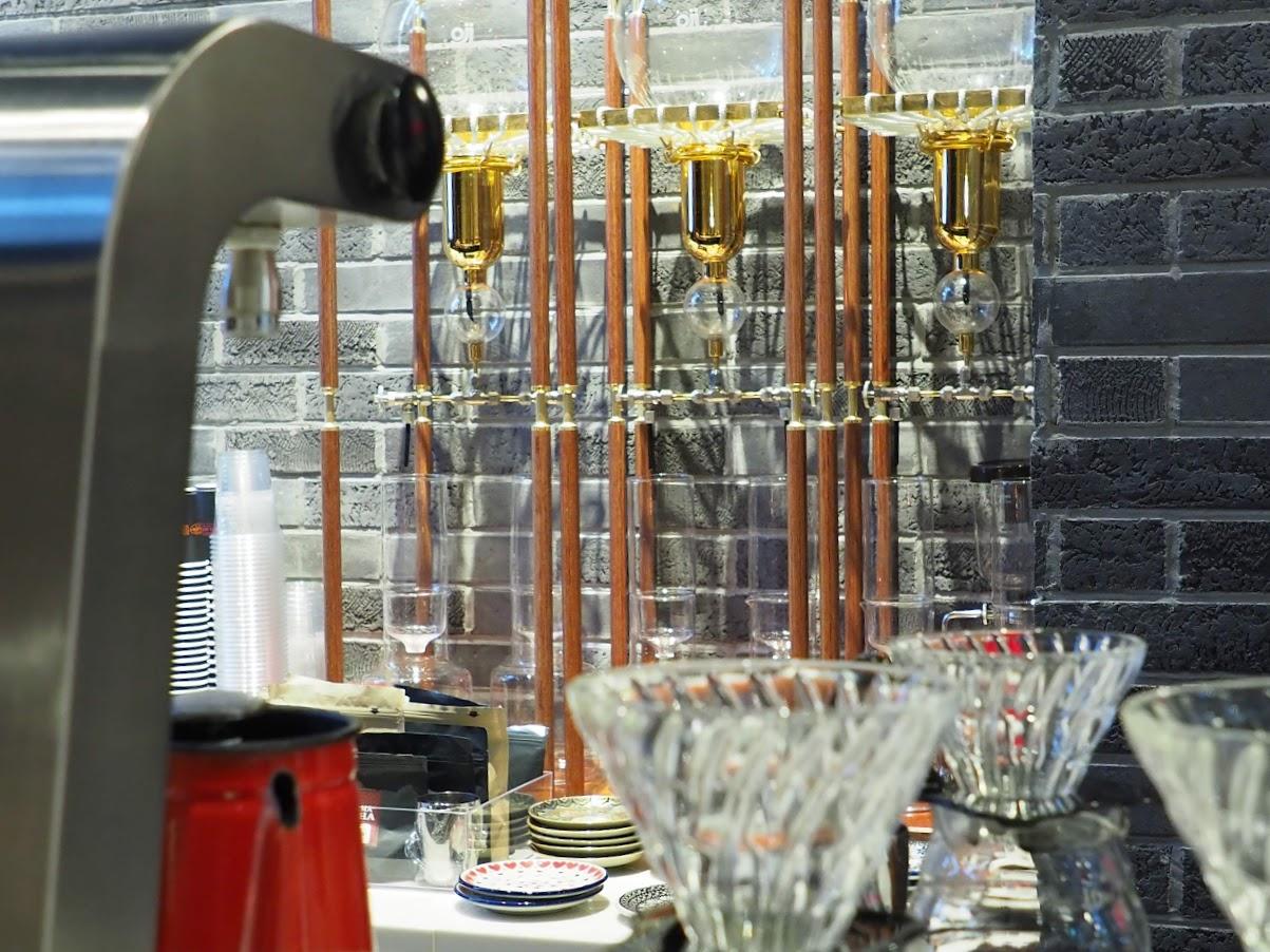 水出しコーヒーの器具やハリオのドリッパー