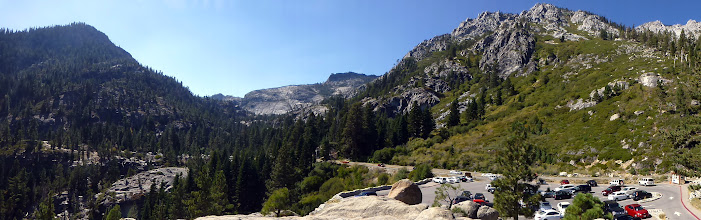 Photo: Panorama of Maggies Peaks and Jake's Peak