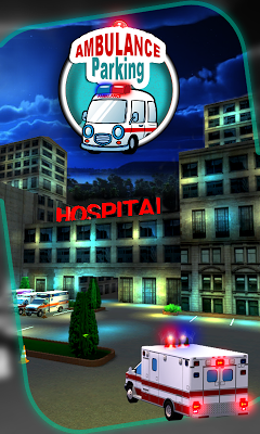 Ambulance Parking Simulator 3D - screenshot
