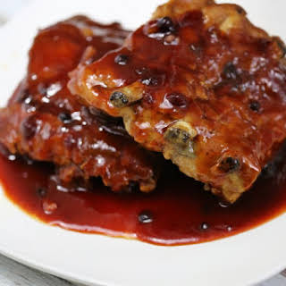 Huckleberry Crock Pot Barbecue Ribs.