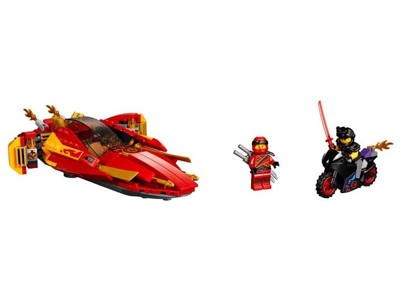 Contenido de Lego® 70628 Catana V11