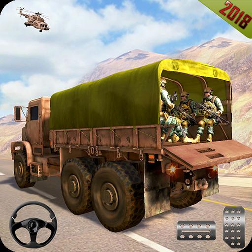 US Army Truck Cargo 3D Simulator