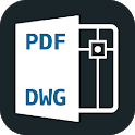 Convert PDF to DWG Autocad icon