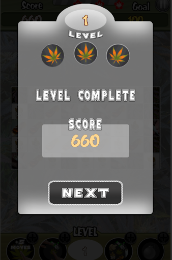 Cannabis Candy Match 3 Weed Game screenshot 5