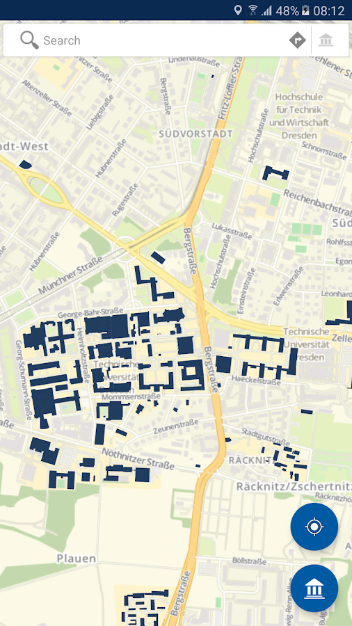 Campus Navigator- screenshot
