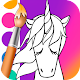 Download Unicorn Coloring Book For PC Windows and Mac