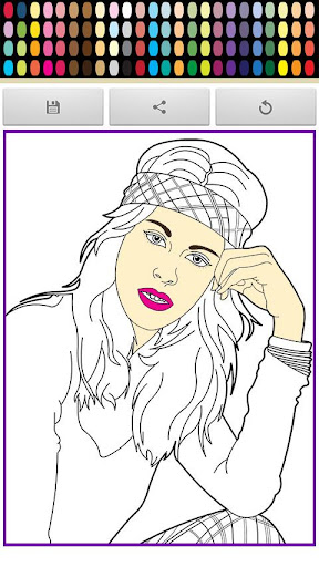 Violeta Leonetta Coloring