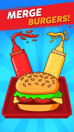 Merge Burger: Food Evolution Cooking Merger apklade screenshots 1