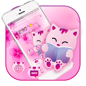 Cute Cat Cartoon Kitty Theme