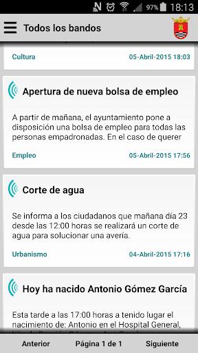 Santa Cruz de Mudela Informa
