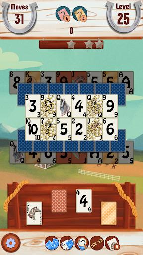 ソリティア馬ゲーム:カード